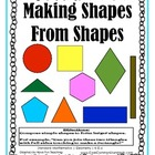 K.G.6 Kindergarten Common Core Worksheets, Activity, and Poster