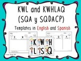 KWL (SQA) English/ Spanish version + the new version.