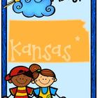 Kansas Primary Research Project with Easy-to-Read State Book