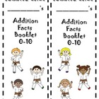Karate Chop Addition Facts booklet {up to 20}