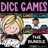 Keep on Rollin' Bundle (15 Independent Dice Games for Math