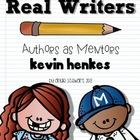 Kevin Henkes Authors as Mentors Unit for Writing Workshop