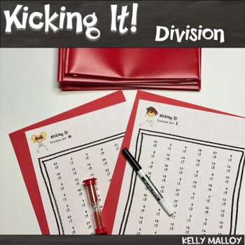 Kicking It Math - Division Facts Fluency Program
