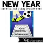 Kicking off a Great Year Craft and Writing Templates