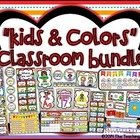 """Kids & Colors"" Classroom Bundle"