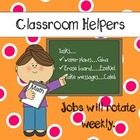 **Kids, Cupcakes, N Common Core** CLASSROOM HELPERS polka