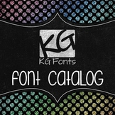 Kimberly Geswein Fonts Catalog