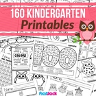 Kinder Teachers Give a Hoot Math & Literacy Owl Worksheets