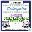 Kindergarten Common Core Daily Language Workout