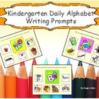 Kindergarten Alphabet Writing Prompts