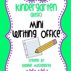 Kindergarten (Basic) Mini Writing Office