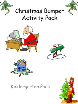 Kindergarten Christmas Bumper Activity Pack