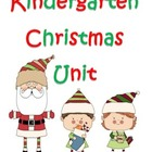 Kindergarten Christmas Unit