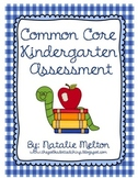 Kindergarten Common Core Assessment