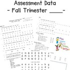 Kindergarten Common Core First Trimester Student Progress Report