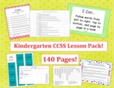 Kindergarten Common Core Lesson Pack - Designer Dots