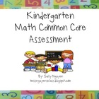 Kindergarten Common Core Math Yearlong Assessment