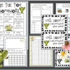Kindergarten Common Core Weekly Homework #2