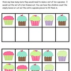 Kindergarten Cupcake Common Core Math Centers