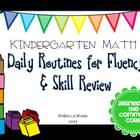Kindergarten Daily Math Review