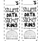 Kindergarten Data Rings