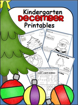 Kindergarten December Math and ELA Unit