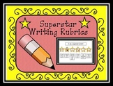 Kindergarten Emergent Writing Rubric: Superstar Writer