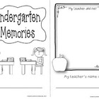 Kindergarten End of Year Mini-Book