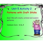Kindergarten Everyday Math SMARTboard Activities for 5.2