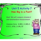 Kindergarten Everyday Math SMARTboard Activities for 5.7