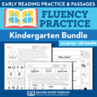 Kindergarten Fluency Homework (36 Weeks)