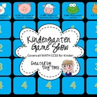 Kindergarten Game Show :: Includes ALL Common Core MATH st