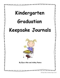 Kindergarten Graduation Keepsake Journals