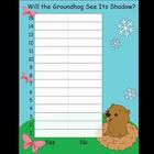 Kindergarten Groundhog's Day Activities and Worksheets