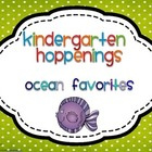 Kindergarten Hoppenings {Ocean Blog Favorites}