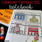 Kindergarten Interactive Science Notebook {Theme: Community}