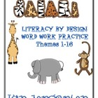 Kindergarten LBD Word Work Classroom Resources