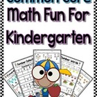 Kindergarten Math Activities (Common Core)