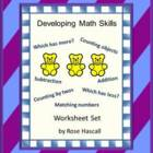 Kindergarten Math-Developing Math Skills - P-K, K, Special