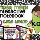 Kindergarten Math Interactive Notebook Operations and Alge