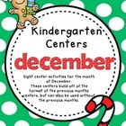 Kindergarten Monthly Centers December