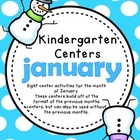 Kindergarten Monthly Centers - January