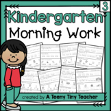 Kindergarten Morning Work {continued} - Daily Language Art