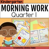 Kindergarten Morning Work for Common Core Set #1 (First Quarter)