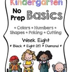 Kindergarten NO PREP Basics {Week 8}