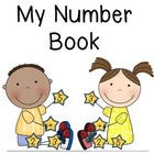 Kindergarten Number Book (0-20)  - Common Core Alligned