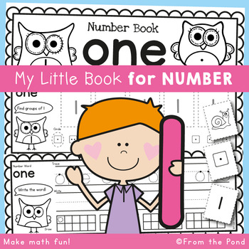 Number Work Book - Number One - 5 Day Booklet