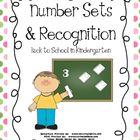 Kindergarten Number Sets and Recognition