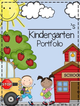 Kindergarten Portfolio and Memory Book