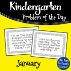 Kindergarten Problem of the Day - January